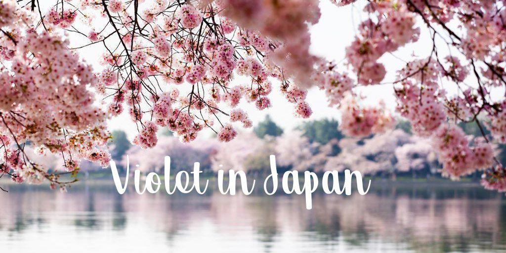 Violet in Japan