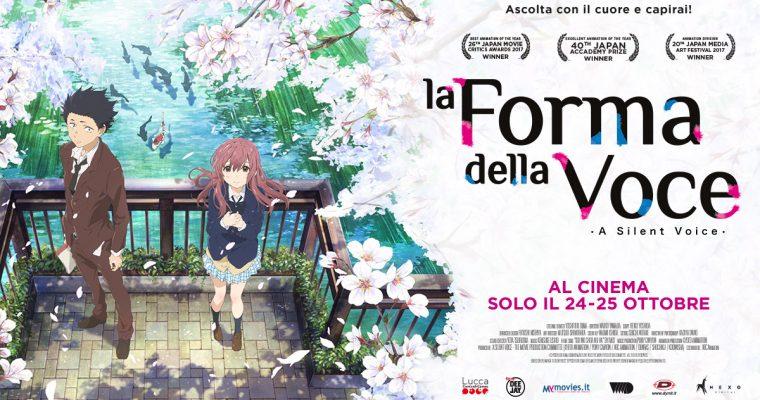 """""""La forma della voce"""", al cinema il 24 e 25 Ottobre"""