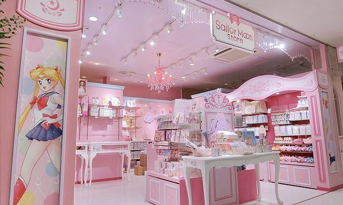 Il primo Sailor Moon Store apre ad Harajuku