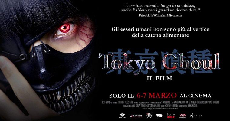 """""""Tokyo Ghoul"""" al cinema il 6 e 7 marzo"""