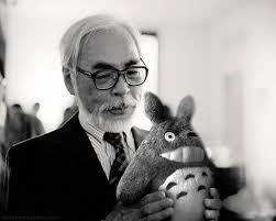 miyazaki and totoro