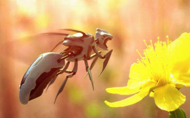 Il Giappone inventa le api robot