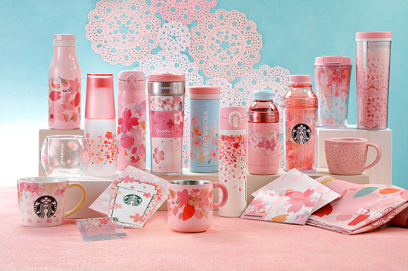 starbucks japan sakura collection 2018