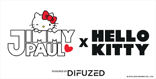 logo jimmy paul hello kitty difuzed