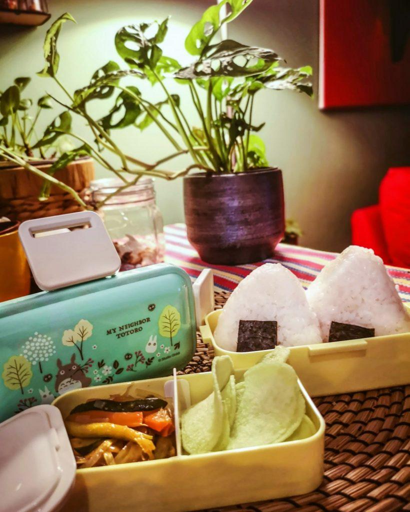 bento box Totoro food