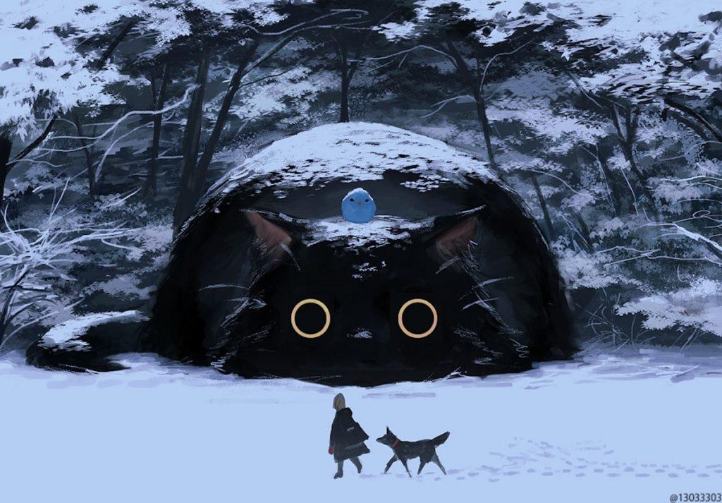 snow cats monokubo japan
