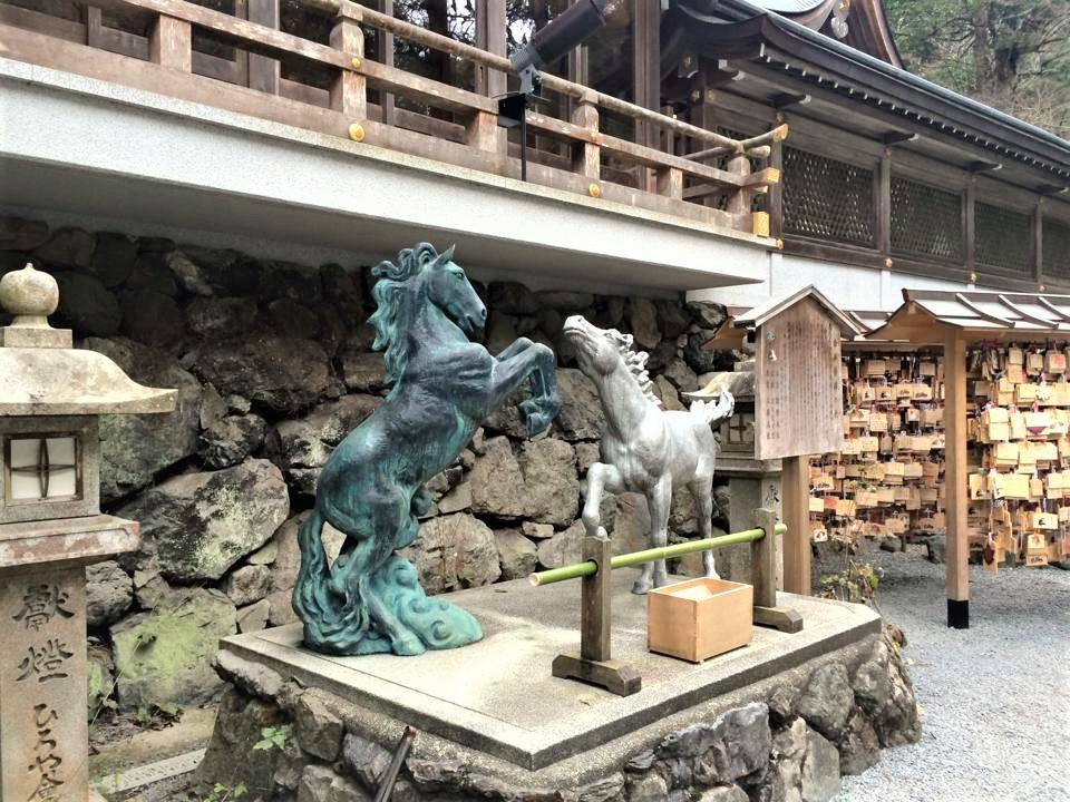 statua cavalli kifune jinja