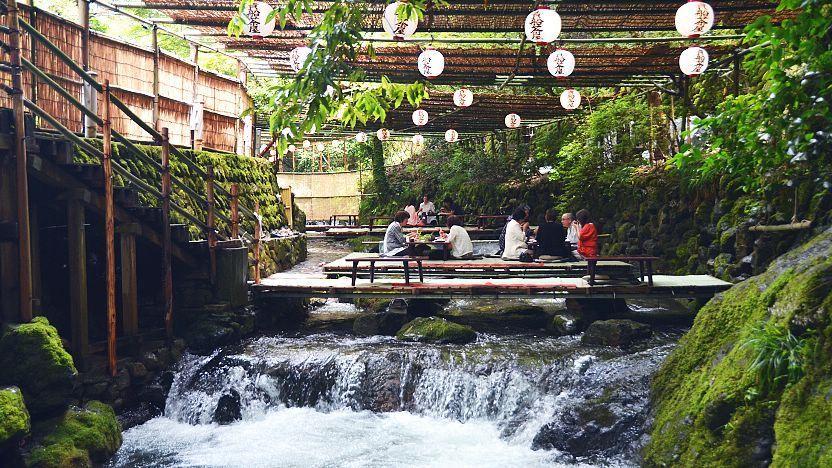 ristoranti kibune fiume