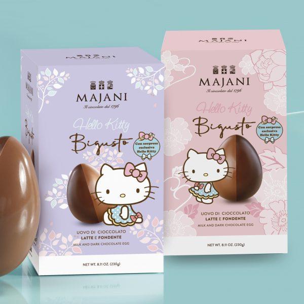 Majani uovo di Pasqua Hello Kitty