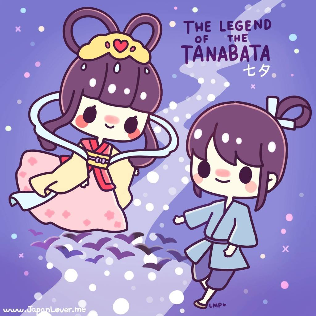 japan lover me the legend of the Tanabata