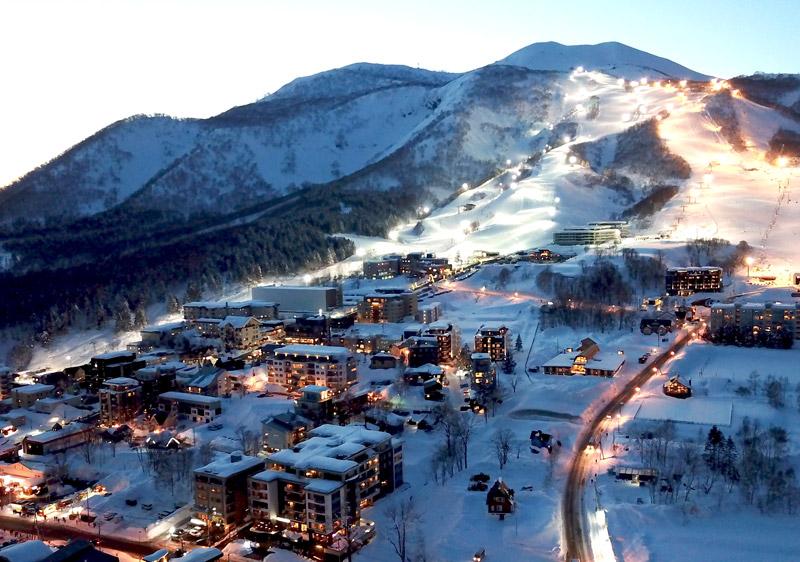 Hokkaido village