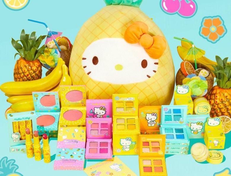 pineapple hello kitty ColourPop