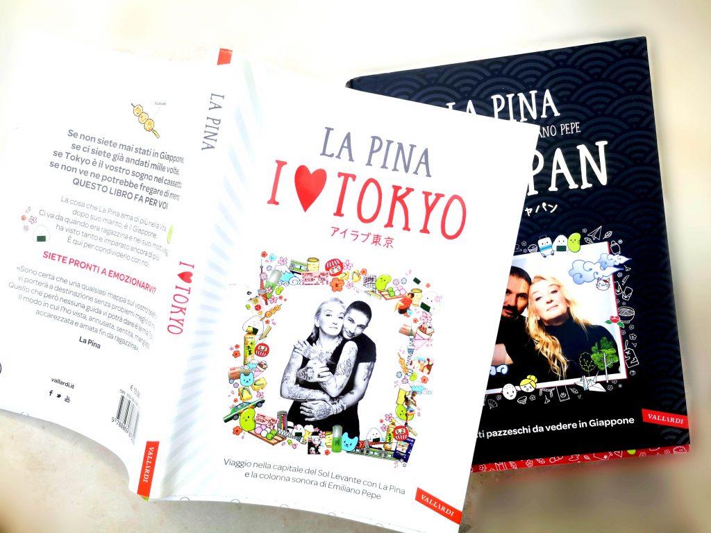 libri La Pina I love Tokyo I love Japan Vallardi