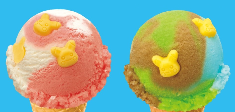 ice cream Pokemon Pikachu Baskin Robbins